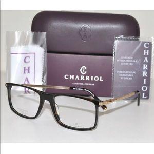 Charriol TITANIUM Eyeglasses PC75036 Havana/Gold